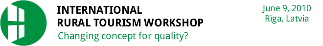 International Rural Tourism Workshop